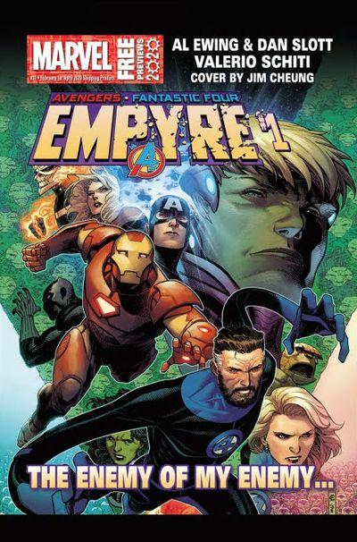 Marvel Previews #31 (Feb for Apr 2020)