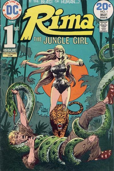 Rima the Jungle Girl #1 – 7 (1974-1975)