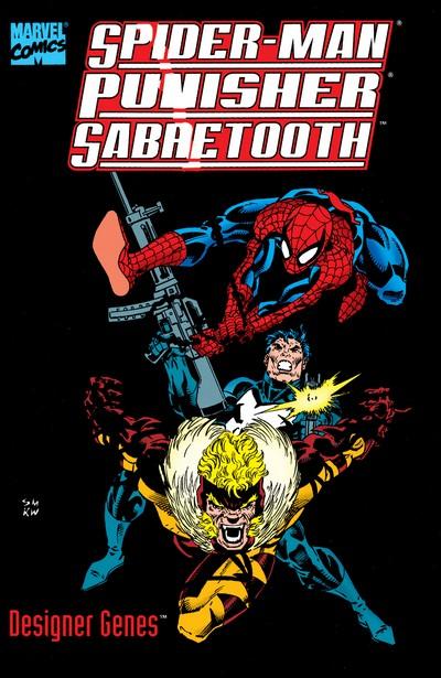 Spider-Man-Punisher-Sabretooth – Designer Genes #1 (1993)