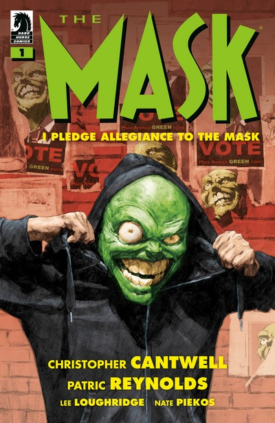 The Mask – I Pledge Allegiance to the Mask #1 – 4 (2019-2020)