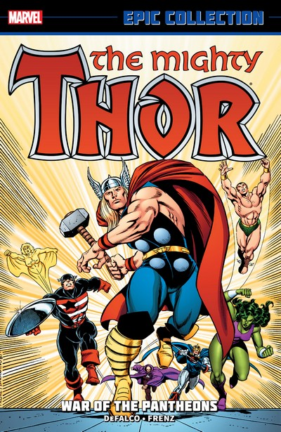 Thor Epic Collection Vol. 16 – War of the Pantheons (2013)