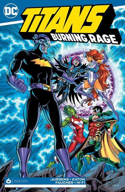 Titans – Burning Rage #6 (2020)