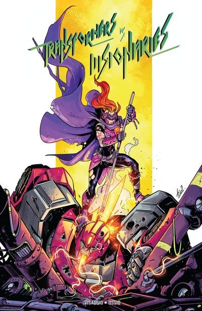 Transformers Vs Visionaries (TPB) (2018)