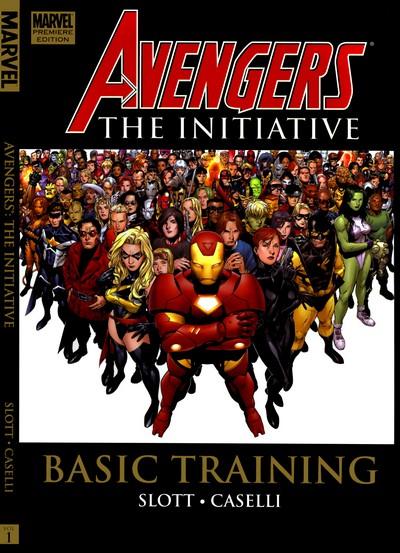 Avengers – The Initiative Vol. 1 – Basic Training (TPB) (2007)