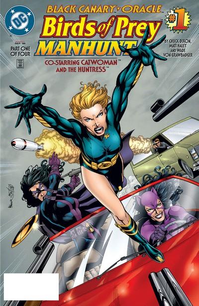 Birds of Prey – Manhunt #1 – 4 (1996-1997)