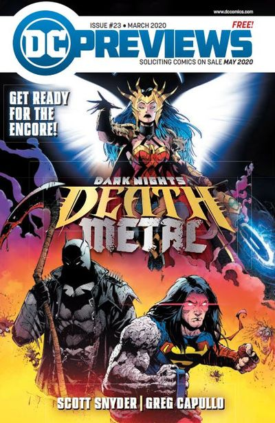DC Previews #23 (March for May 2020)