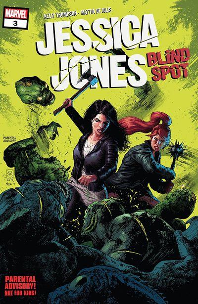 Jessica Jones – Blind Spot #3 (2020)