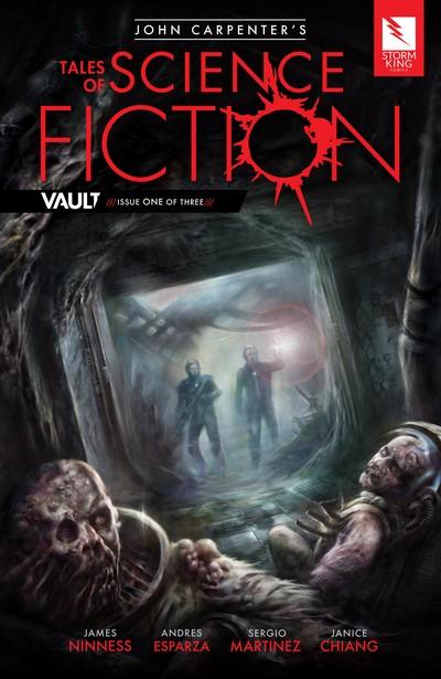 John Carpenter's Tales of Science Fiction – Vault #1 – 3 + TPB (2017)