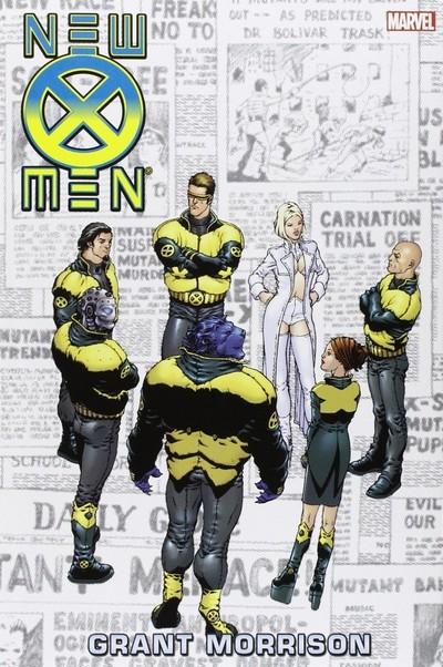 New X-Men by Grant Morrison Omnibus (Fan Made) (2016)
