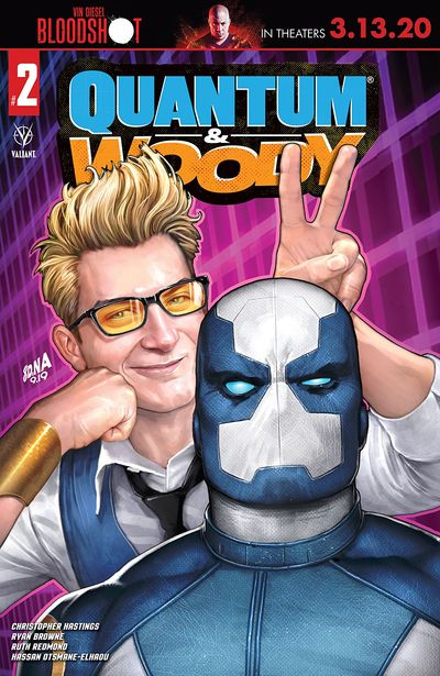 Quantum And Woody #2 (2020)