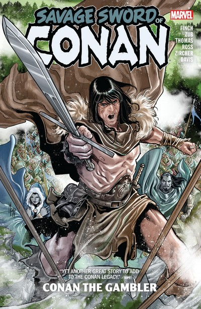 Savage Sword Of Conan Vol. 2 – Conan The Gambler (2020)