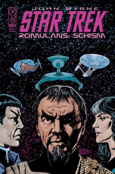 Star Trek – Romulans Schism #1 – 3 (2009)