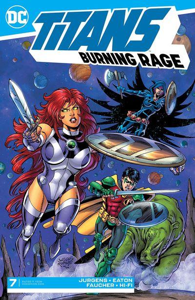 Titans – Burning Rage #7 (2020)