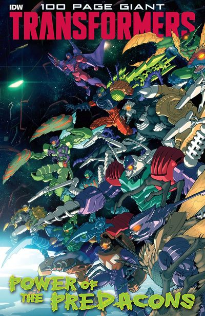 Transformers 100-Page Giant – Power Of The Predacons (2020)