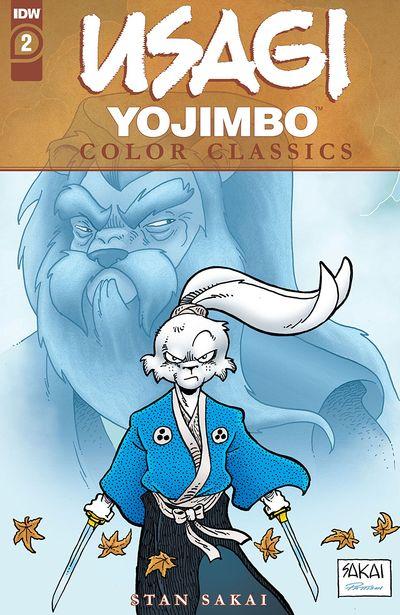 Usagi Yojimbo Color Classics #2 (2020)