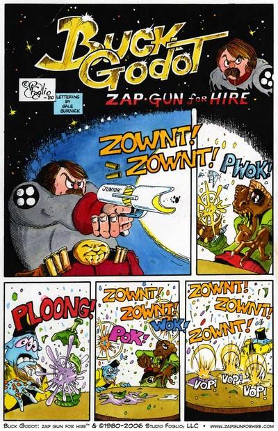 Buck Godot – Zap Gun for Hire #1 – 8 (1993-1998)