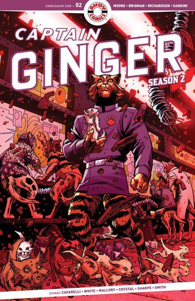Captain Ginger Season 2 #2 (2020)