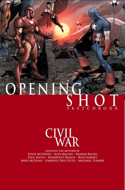 Civil War – Opening Shot Sketchbook (2006)