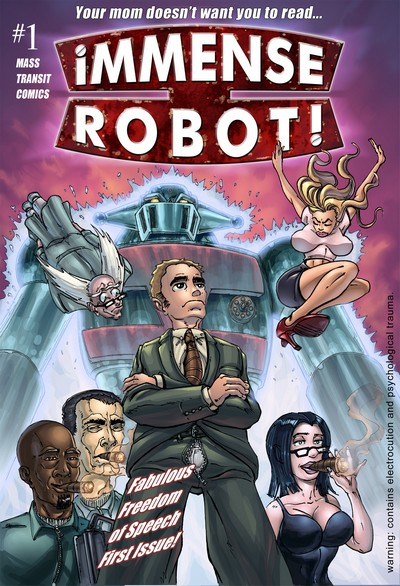 Immense Robot #1 – 4 (2014-2015)