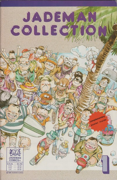 Jademan Collection #1 – 3 (1989-1990)