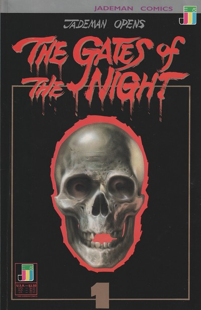 Jademan Opens the Gates of the Night #1 – 4 (1990)