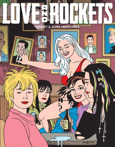 Love and Rockets Vol. 4 #1 – 8 (2016-2020)