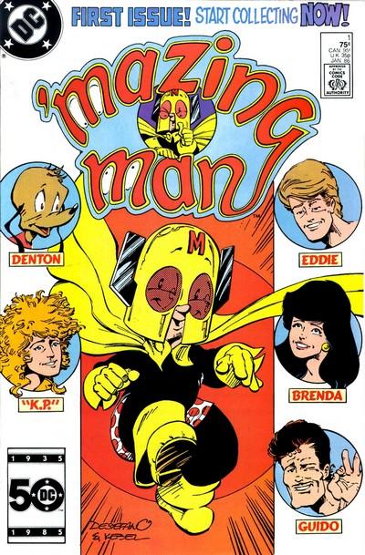 'Mazing Man #1 – 12 (1986)