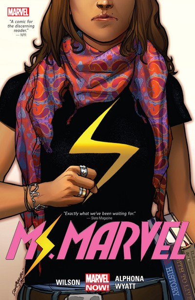 Ms. Marvel by G. Willow Wilson Vol. 1 – 5 (TPB) (2015-2019)