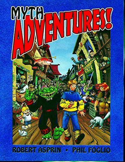 Myth Adventures Webcomic (In Color!) (2007)