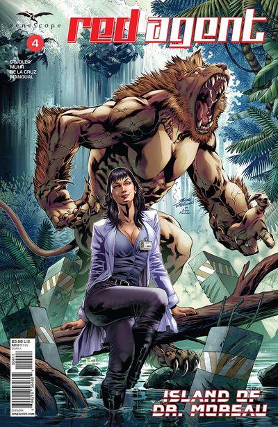 Red Agent – Island Of Dr. Moreau #4 (2020)