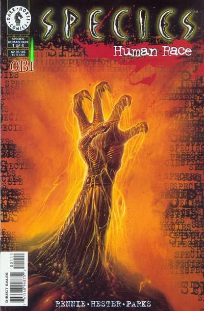 Species – Human Race #1 – 4 (1996-1997)