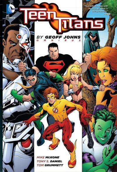 Teen Titans by Geoff Johns Omnibus (Fan Made) (2013)