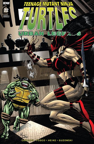 Teenage Mutant Ninja Turtles – Urban Legends #22 (2020)