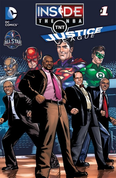 The Justice League Goes Inside The NBA – All Star Edition (2014)