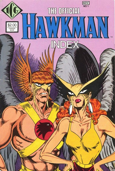 The Official Hawkman Index #1 – 2 (1986)