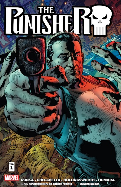 The Punisher by Greg Rucka Vol. 1 – 3 (TPB) (2012-2013)