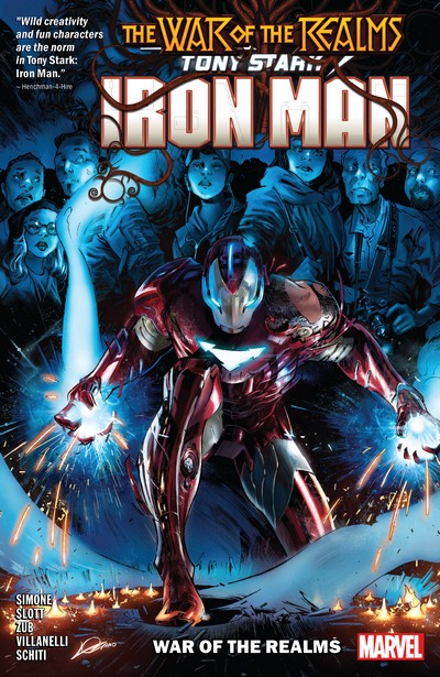 Tony Stark – Iron Man Vol. 3 – War of the Realms (TPB) (2019)