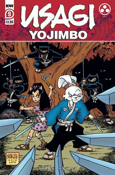 Usagi Yojimbo #9 (2020)