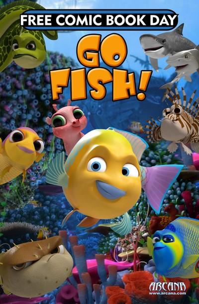 Arcana Studio Presents 2019 FCBD Ed – Go Fish (2011)