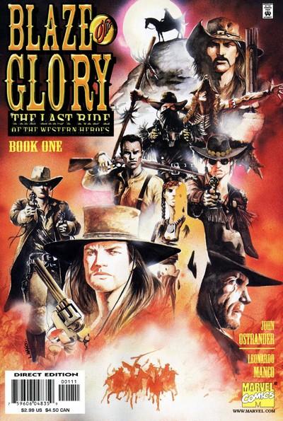 Blaze of Glory #1 – 4 (2000)