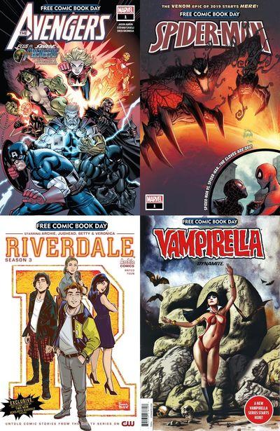 FCBD (Free Comic Book Day – Collection) (2002-2019)