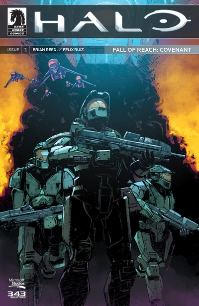 Halo – Fall of Reach – Covenant #1 – 4 (2016)