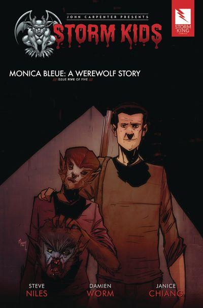 John Carpenter presents Storm Kids – MONICA BLEUE – A WEREWOLF STORY #5 (2020)