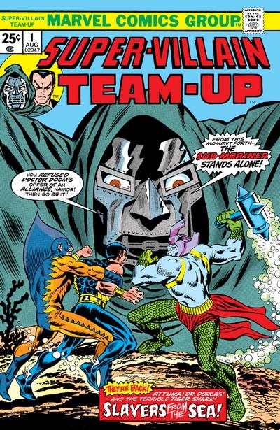 Super-Villain Team-Up #1 – 17 (1975-1980)