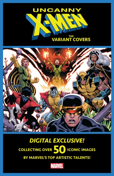 Uncanny X-Men – The Variant Covers #1 (2020)