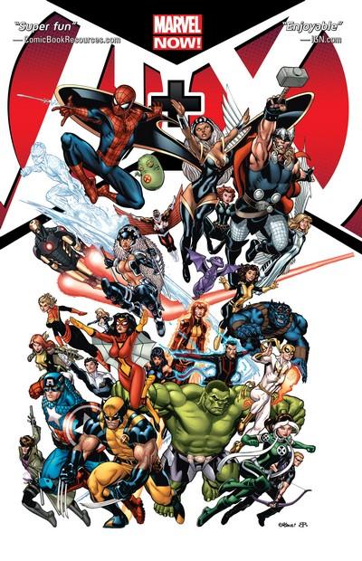 A+X Vol. 1 – 3 (TPB) (2013-2014)
