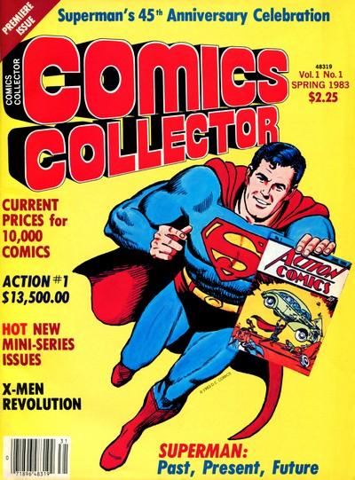 Comics Collector #1 – 10 (1983-1986)