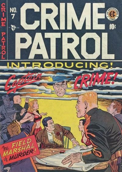 Crime Patrol #7 – 16 (1948-1950)