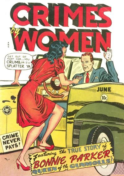 Crimes by Women #1 – 15 (1948-1950)