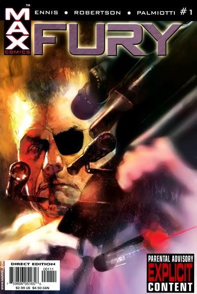 Fury #1 – 6 (2001-2002)